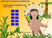 Les tables de multiplication de 8 et de 9 primaire24 - Jeux de table de multiplication en ligne ...