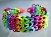 Comment faire un bracelet élastique à 3 rangées