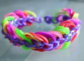 Comment faire un bracelet élastique triple chaine
