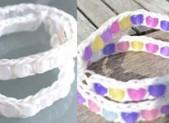 Bracelet élastique avec des perles magiques