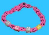 Bracelet élastique avec prénom (perles)