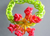 Bracelet élastique «Fleur»