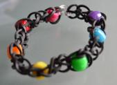 Bracelet élastique avec des perles très facile