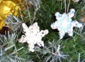 Flocon de neige en élastiques
